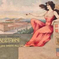 Pubblicità ditta Bertagni (primi del Novecento)