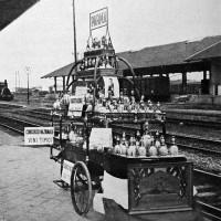 """Stazione Parma, Primo concorso nazionale per l'offerta dei vini tipici nei ristoratori della stazione 1929, da """"Enotria"""", 6 giugno 1929"""