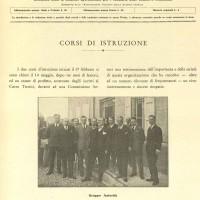 1930. Corsi di istruzione (archivio SSICA).