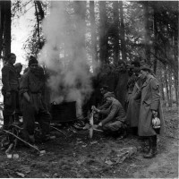Esercito Fronte occidentale, reparto di fanteria nella zona delle Alpi occidentali, giugno 1940, in ACS, Partito nazionale fascista, Ufficio propaganda, Seconda guerra mondiale,  busta 1.
