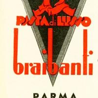 Copertina, Archivio Storico Barilla - Parma – Italia.