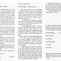 1917. Lettere sull'uso di legna da parte delle industrie conserviere.