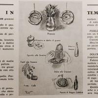 La cucina in tempo di sanzioni, in «L'Illustrazione italiana», 7 giugno 1936, n. 23.