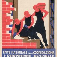 L'Esposizione nazionale della cooperazione fascista (1928) alla quale parteciparono anche alcune cooperative di consumo della provincia di Bologna.