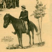 """llustrazioni di Ferruccio Zago da """"Giornale di agricoltura della domenica"""", 11 maggio 1913"""