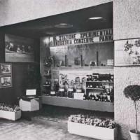 Primo stand mostra delle conserve Parma 1942.
