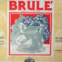 """Pubblicità Sciroppo d'Uva Valli, Lugo di Romagna, da """"Enotria, giugno 1923"""