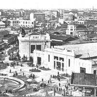 """Fiera Milano, veduta generale, da """"Enotria"""" 1924"""