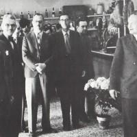 La cooperativa di consumo di Imola poco dopo la Liberazione.