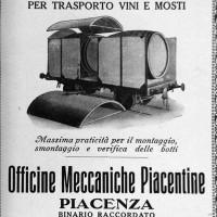 """Pubblicità Officine Meccaniche, da """"Enotria"""", settembre 1924"""