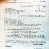 Consiglio provinciale delle Corporazioni, Limitazione del consumo della pasticceria e della gelateria, 26 giugno 1940, in Archivio storico comunale di Crevalcore, 1940, categoria 8, classe 5, fasc. 1.