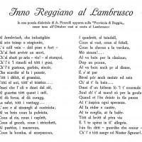 """Amerigo Ficarelli, Inno al Lambrusco, da """"Enotria"""", novembre 1926"""
