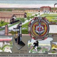 Stabilimento militare di Casaralta, 1910 ca., cartolina. Museo Civico del Risorgimento di Bologna