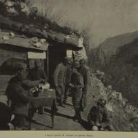 I nuovi posti di ristoro in prima linea, in «L'Illustrazione italiana», 10 marzo 1918, n. 10, p. 194,  Istituto per la storia e le memorie del '900 Parri E-R.