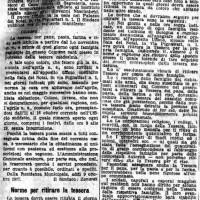 La tessera per il pane, pasta, farina e riso istituita dal 1° novembre, in «Il Resto del Carlino», 9 ottobre 1917