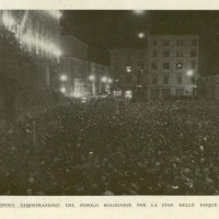 La grandiosa dimostrazione del popolo bolognese per la fine delle inique sanzioni, in «Il Comune di Bologna, rivista mensile», luglio-agosto 1936.