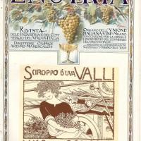 """Copertina rivista """"Enotria"""" con la pubblicità dello sciroppo d'uva Valli, Lugo di Romagna, (giugno 1923)"""