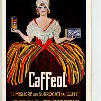 Caffeol, il migliore dei surrogati di caffé, manifesto.