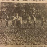 Si semina ai giardini Margherita, in «Il Resto del Carlino», 13 novembre 1941.