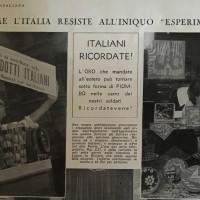 """Come l'Italia resiste all'iniquo """"esperimento"""", in «L'Illustrazione italiana», 24 novembre 1935, n. 47."""