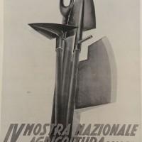 Manifesto quarta mostra nazionale  dell'Agricoltura, in «Bologna. Rivista mensile del Comune», n. 4, aprile 1935.