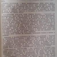 Bottega del ghiottone in tempo di guerra. Colazione magrissima, in «L'Illustrazione italiana», 13 aprile 1941.