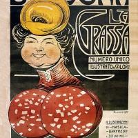 Bologna La Grassa, gennaio 1907 (illustrazione di Augusto Majani, detto Nasica)