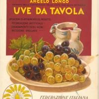 Angelo Longo, Uve da tavola, Piacenza, Federazione italiana degli agricoltori, 1930.