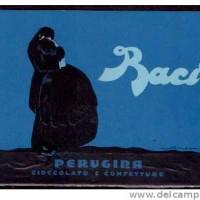 Nel 1922 nasce il Bacio, cioccolatino tuttora notissimo. Come si può notare lo stile grafico, logo e scelta dei colori sono solo leggermente diversi da quelli di oggi