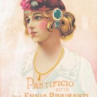Plancia per il calendario giornaliero Braibanti del 1910, di Anonimo, impressa dalle Arti Grafiche Ganzini di Parma, Archivio Storico Barilla - Parma – Italia.