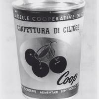 Confettura di ciliegie a marchio Coop (1948)