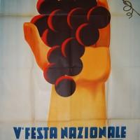 Manifesto della V Festa Nazionale dell'Uva (1934)