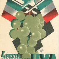 Manifesto della IV Festa Nazionale dell'Uva (1933)