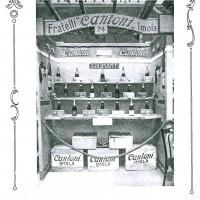 """Ginevra 1923, Stand dei fratelli Cantoni di Imola, da """"Enotria"""", 1924"""
