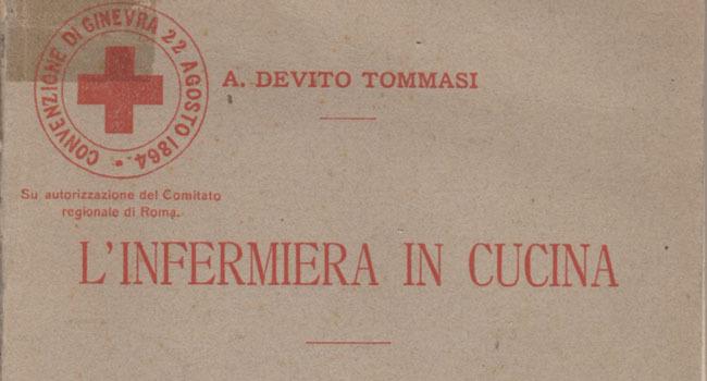 Angelica Devito Tommasi, L'infermiera in cucina, 1915