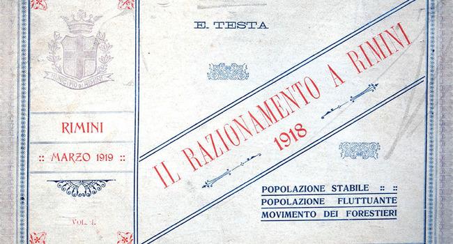 Tra bombardamenti e terremoto: alimentazione e sofferenza nella Rimini della Grande Guerra