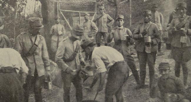 I soldati al fronte