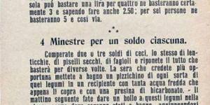 """Commissione delle minute della Lega """"Pro-limitazione dei consumi"""", Donne di casa, volantino, 1917, in Europeana 1914-1918 (www.europeana1914-1918.eu)"""