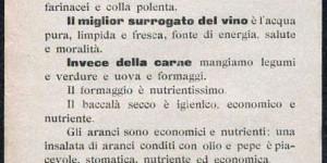 """Commissione delle minute della Lega """"Pro-limitazione dei consumi"""", Surrogati e succedanei, volantino, 1917, in Europeana 1914-1918 (www.europeana1914-1918.eu)"""