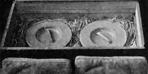 Cassette di cottura, foto in N. Ferrari, L'orto di guerra, 1917