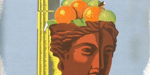 """La pubblicità della mostra internazionale di agrumicoltura tenuta a Palermo nel 1933 (da """"Italia agricola """"1933)"""