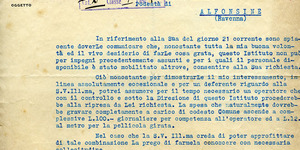 Documento dell'Istituto Luce