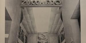 Mostra della bietola e dello zucchero, foto del padiglione allestito durante la IV Mostra nazionale dell'agricoltura, in «Bologna. Rivista mensile del Comune», n. 6, giugno 1935.