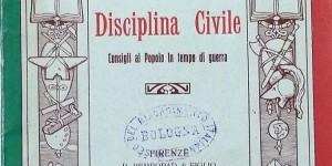 Ezio Maria Gray, Disciplina civile. Consigli al popolo in tempo di guerra, Firenze, 1915