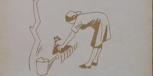 Ufficio propaganda Pnf, L'orto di guerra, 1942.