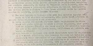 Comando militare unico Emilia-Romagna, Recuperi e requisizioni, in Istituto per la storia e le memorie del 900 Parri Emilia Romagna, fondo Bergonzini, b. 2, fasc. 12.