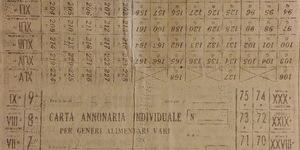 La nuova carta annonaria, in «Il Resto del Carlino», 12 novembre 1941.