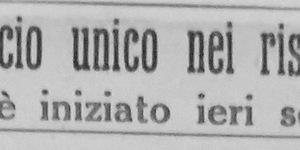 Il rancio unico nei ristoranti si è iniziato ieri sera, in «Il Resto del Carlino», 8 febbraio 1942.