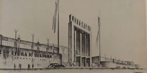 Ingresso principale della Fiera di Bologna, in «Bologna. Rivista mensile del Comune», n. 4, aprile 1935.