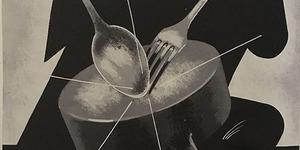Manifesto Settimana della cucina 19-26 maggio, in «Bologna. Rivista mensile del Comune», n. 4, aprile 1935.